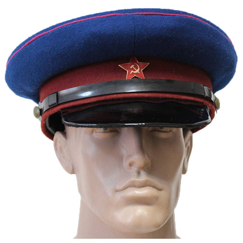 Soviet NKVD Officers WW2 Visor Hat