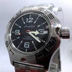 Russomilitare: Russian wrist watch for diving Vostok amphibian automatic 31 jewels 200m #7