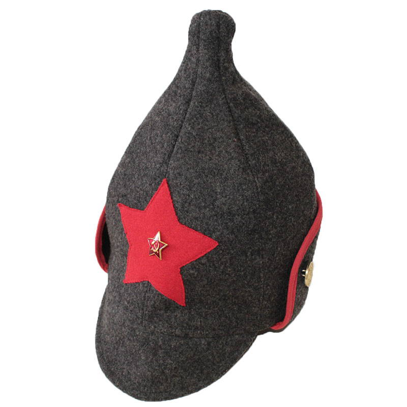Red Army Winter Hat Budenovka