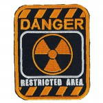 Russomilitare: Radiation Restricted Area Danger Patch Embroidered