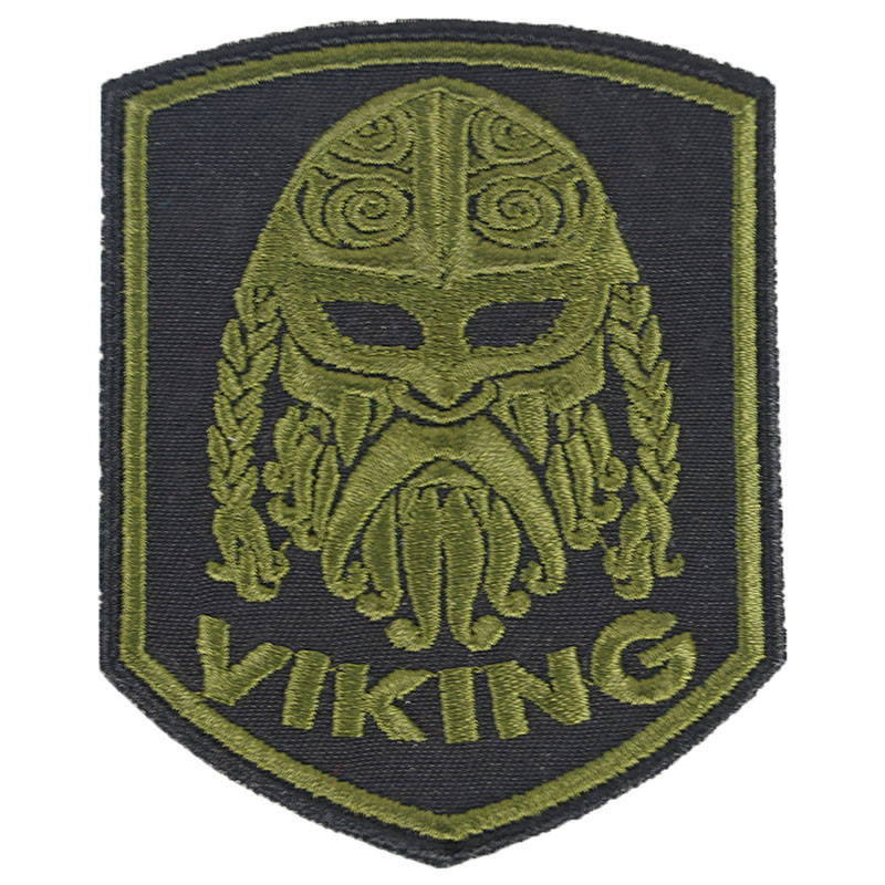 Viking Embroidered Patch
