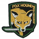 Russomilitare: Fox Hound MGS Special Forces Patch Embroidered