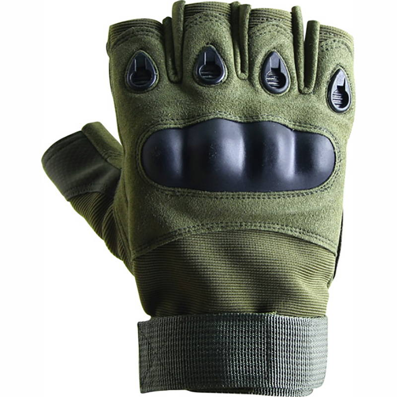 Russian Tactical Spetsnaz Half Gloves Rage Olive