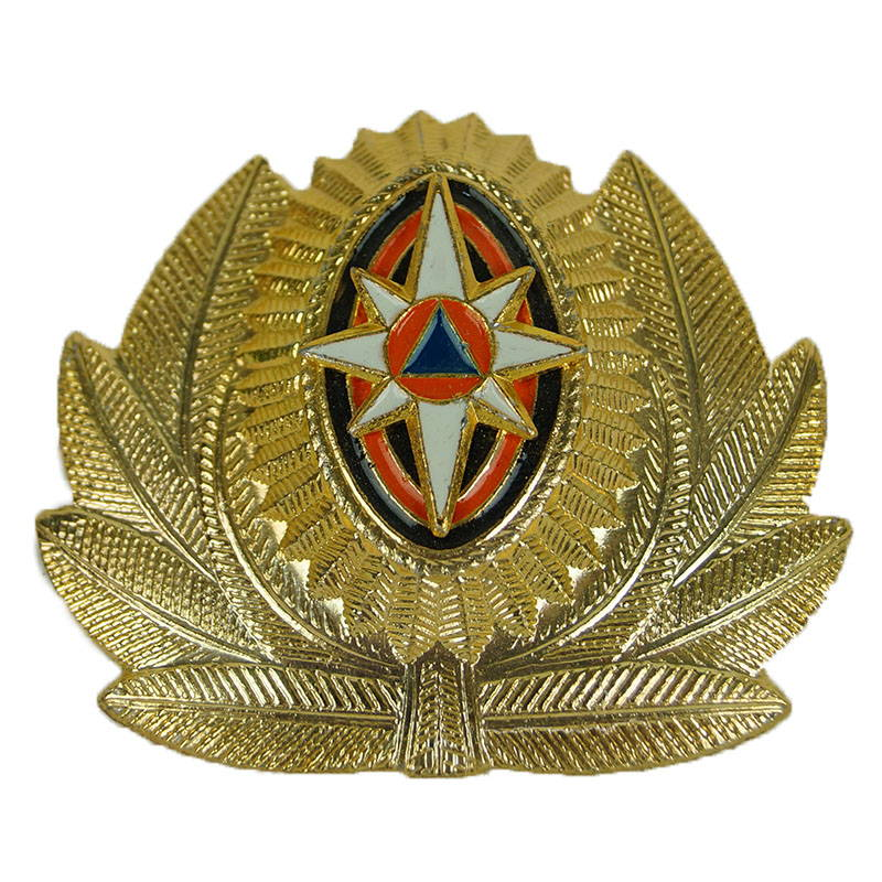 Russian Mchs Ministry Of Emergency Emercon Hat Pin Badge