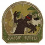 Zombie Hunter Airsoft Patch Embroidered