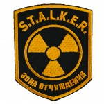 Russomilitare: STALKER Sperrzone Patch Gestickt