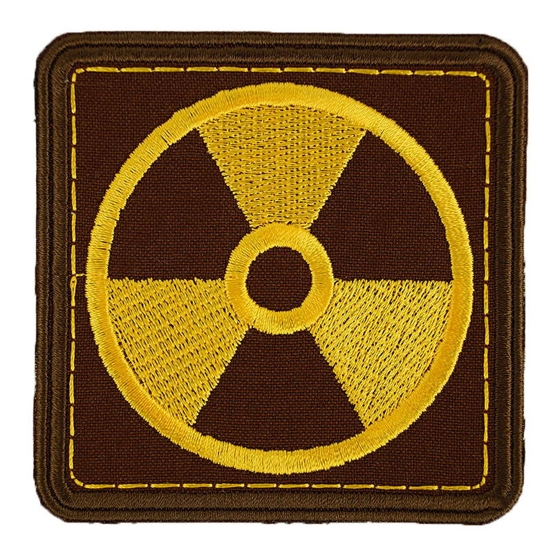 Stalker Radioctive Area Sign Patch Embroidered