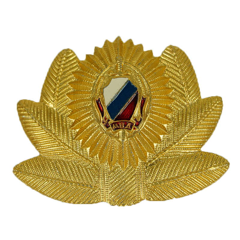 Russian Mvd Ministry Police Officer Hat Pin Badge