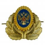 Russomilitare: Russian Double Head Eagle Hat Pin Badge