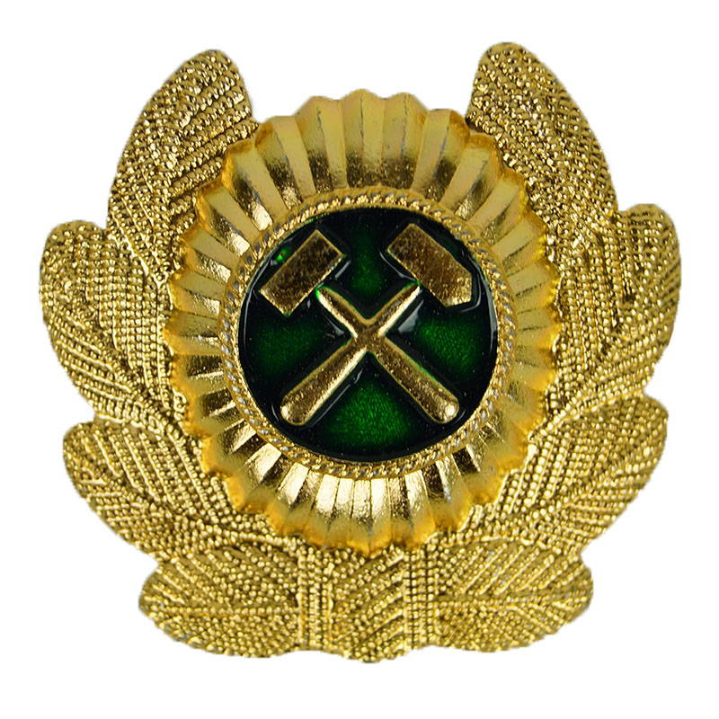 Russian Soviet Railroad Troops Hat Pin Badge