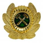 Russomilitare: Russian Soviet Railroad Troops Hat Pin Badge