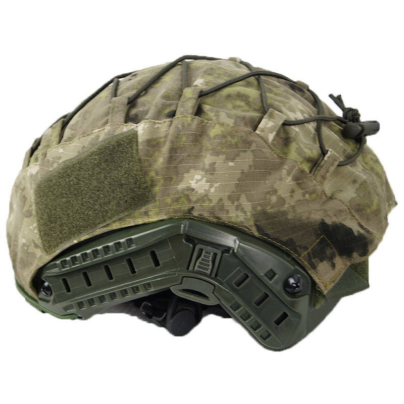 Fast Ops-Core Helmet Cover Moss Camo Pattern