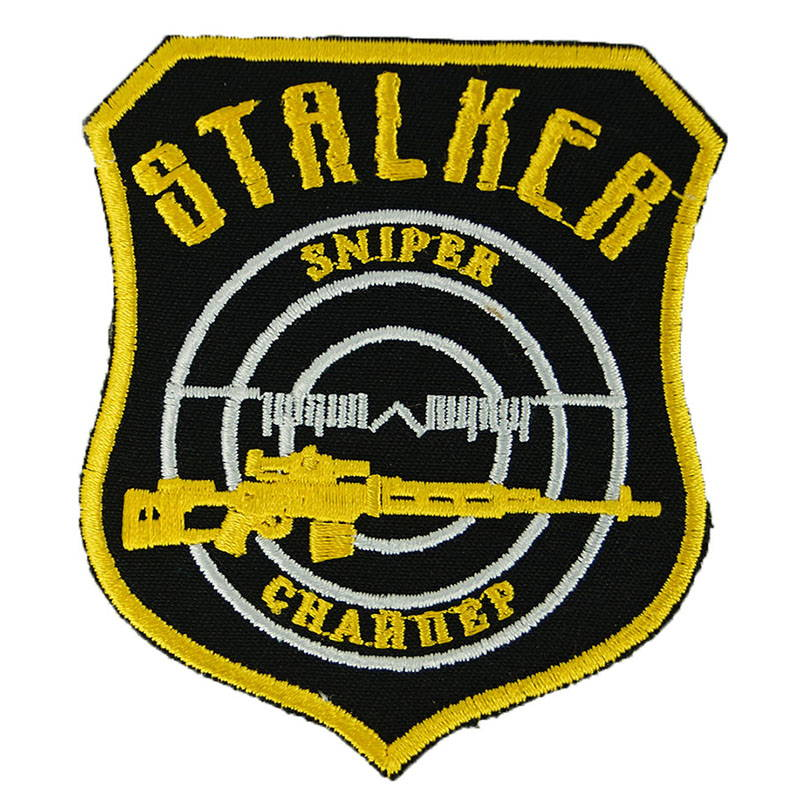 Stalker Sniper Logo Patch Embroidered