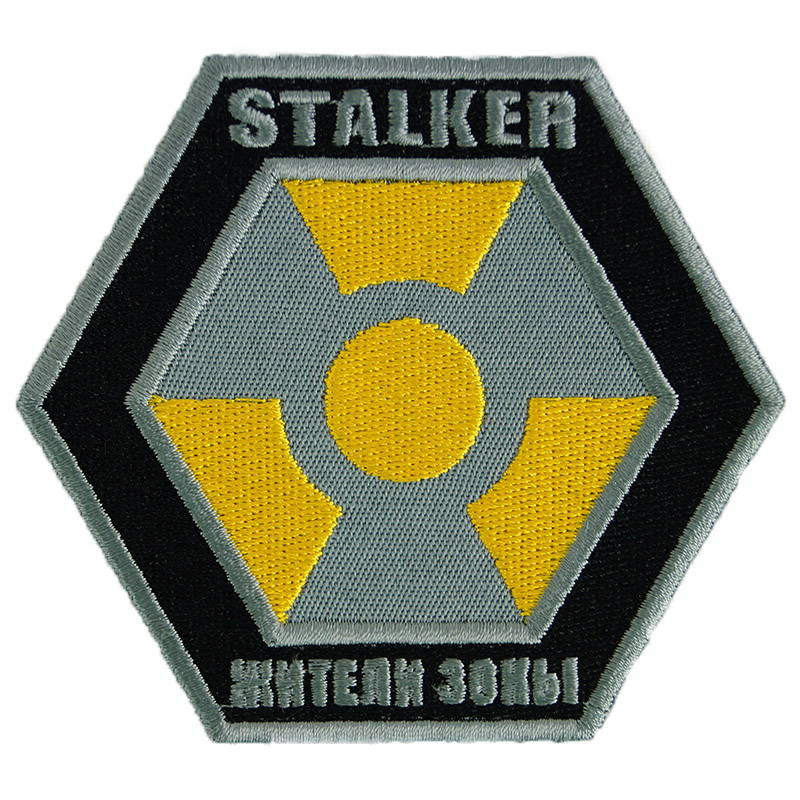 Stalker Videogame Zone Residents Patch Embroidered