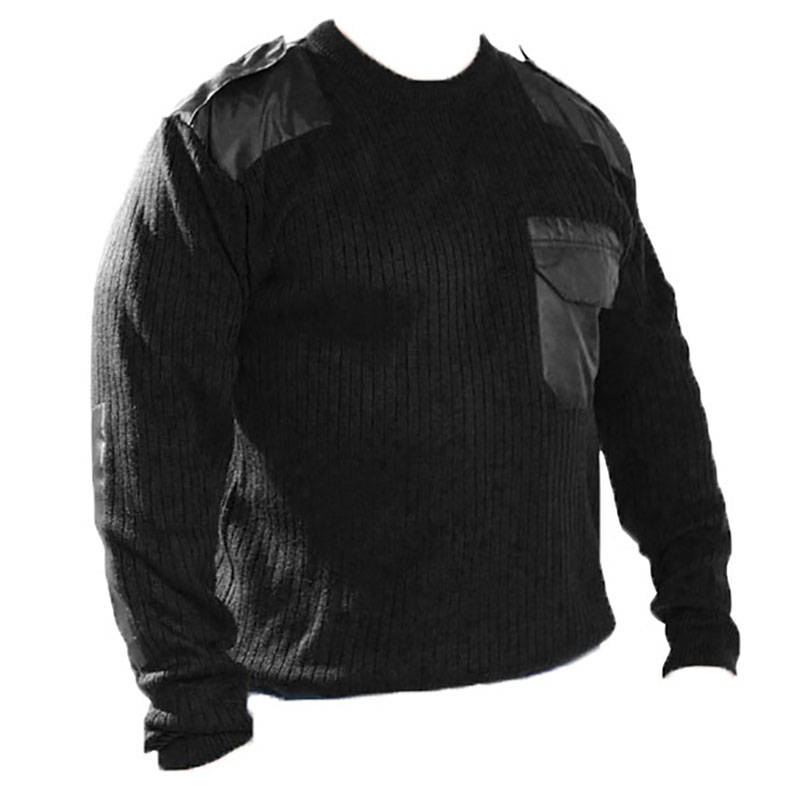 Russian Army Uniform Military Sweater Black