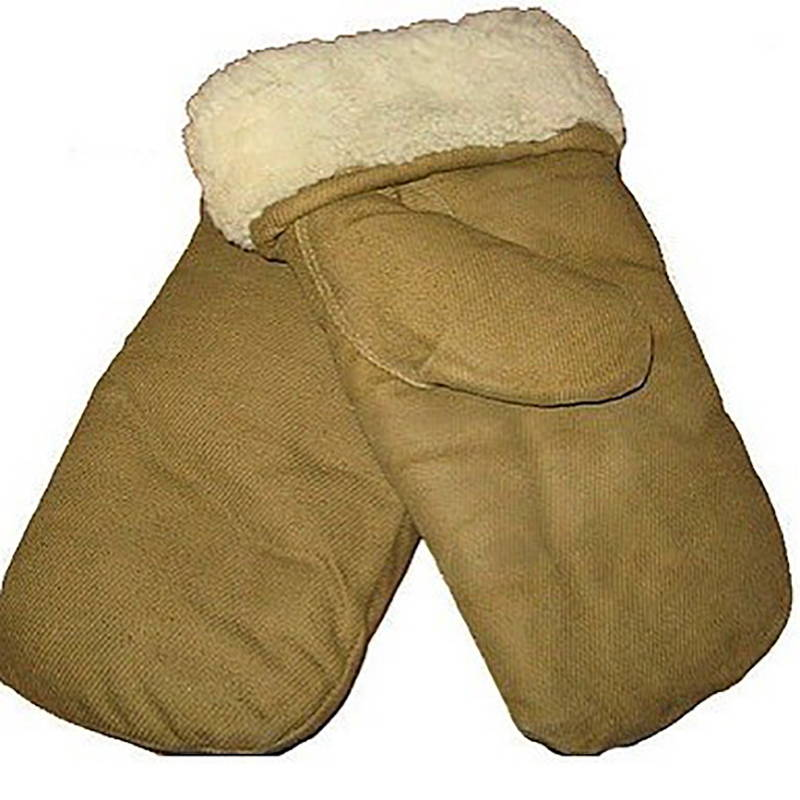 Soviet Winter Sheepskin Mittens