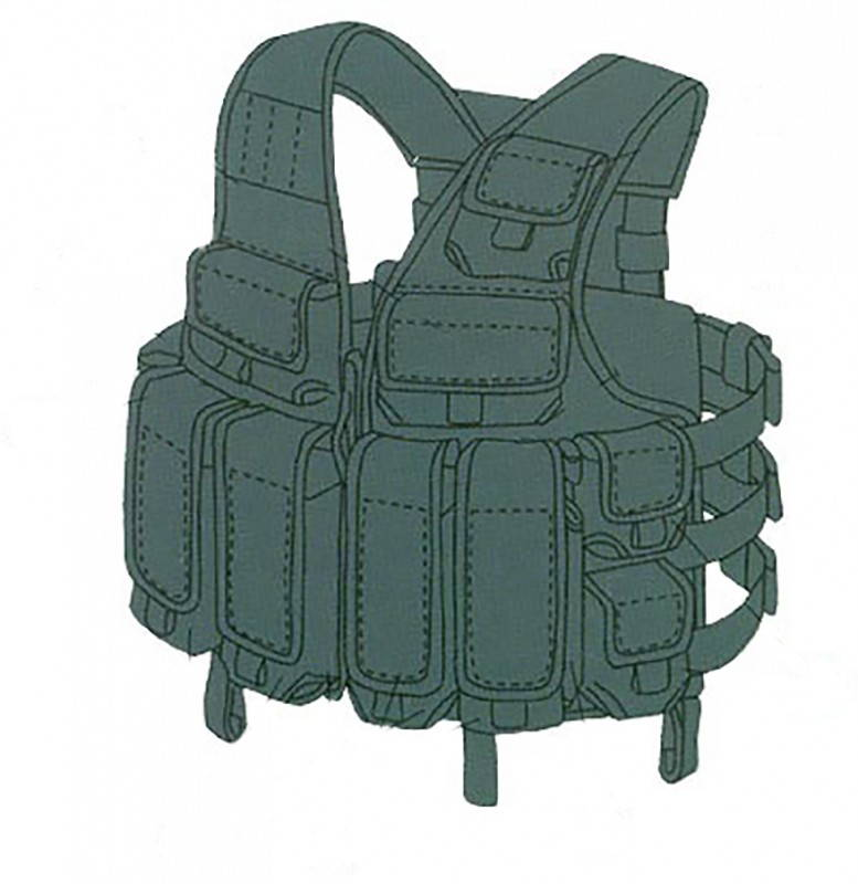 Russian Special Forces Tactical Vest Tarzan M22