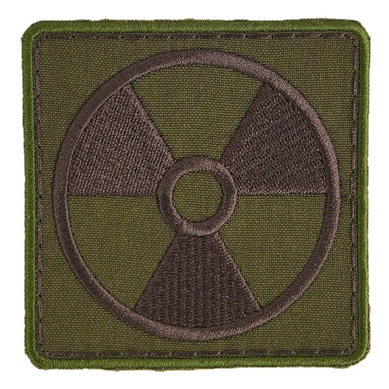 Stalker Chernobyl Radiation Sign Embroidered