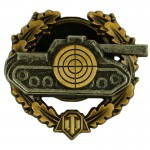 Russomilitare: World Of Tanks Sniper Tanque De Peito Emblema