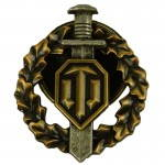 Russomilitare: World Of Tanks Réservoir De Guerrier Poitrine Badge