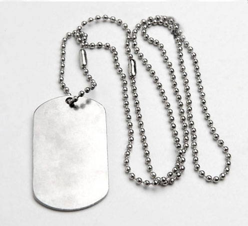 VDV Dog Tag Strengh Bravery Courage
