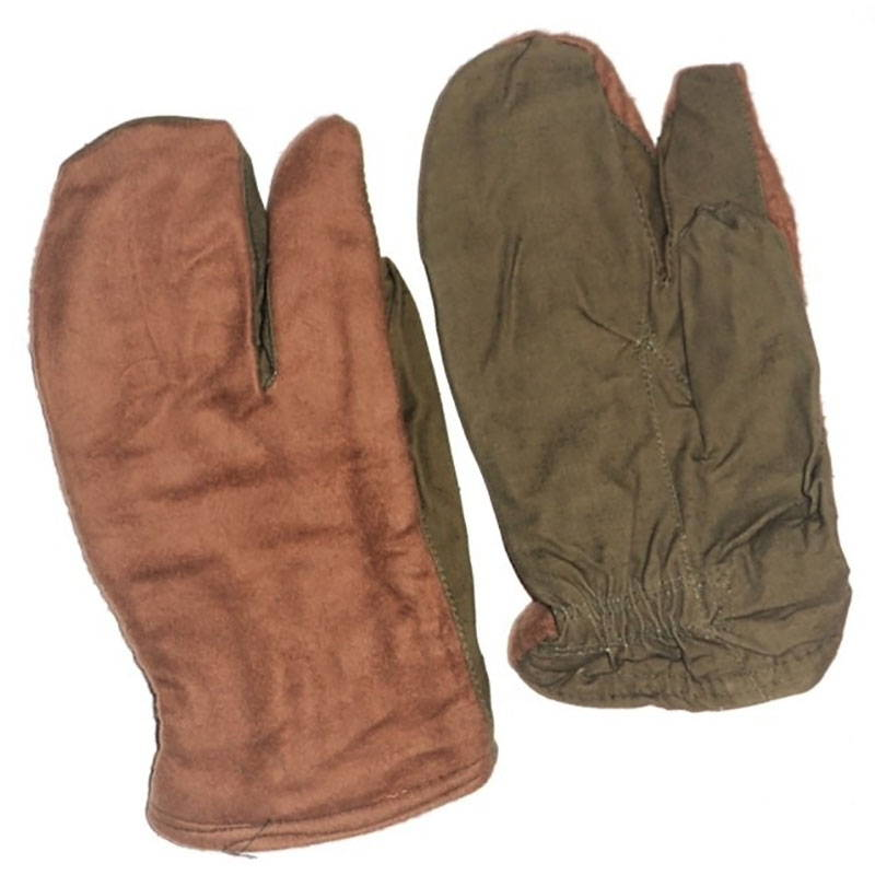 Military Winter 3 Finger Gloves Mittens