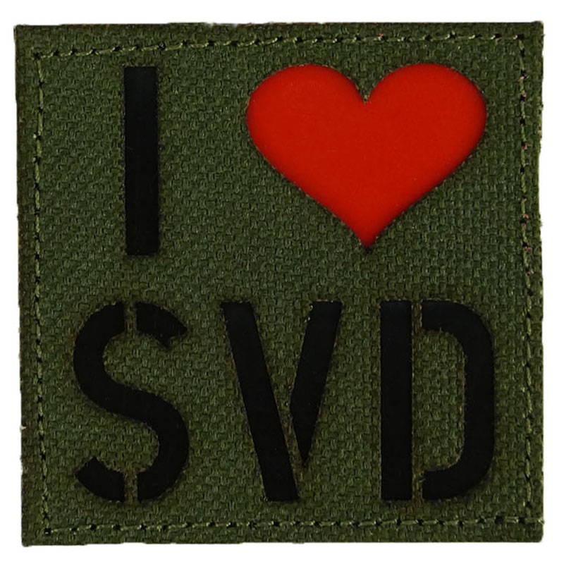Callsign I Love SVD Velcro Patch