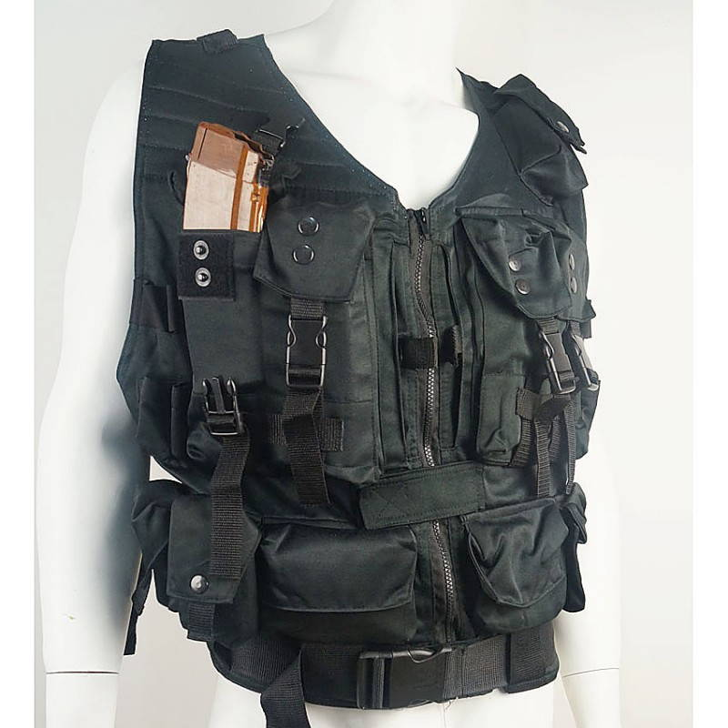 Russian Military Tactical Assault Vest Black