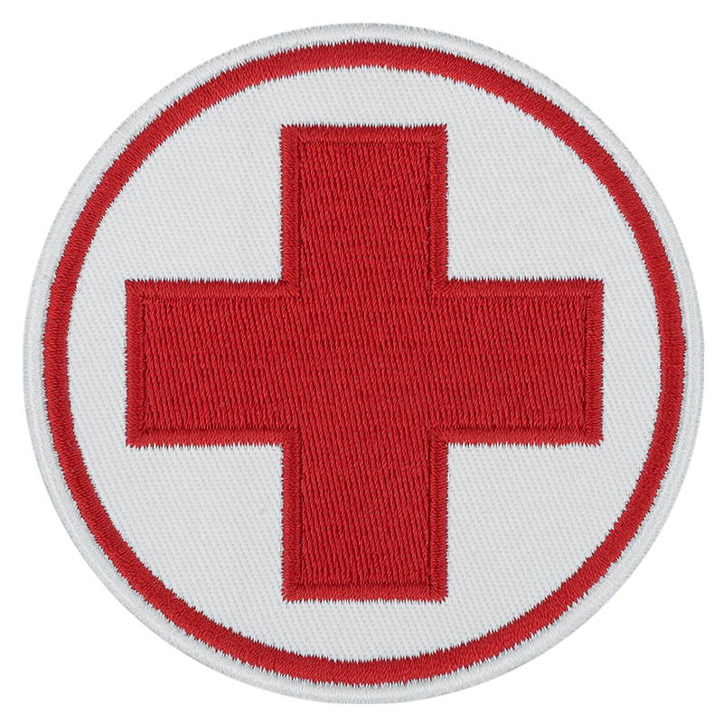 Medical Cross Airsoft Patch