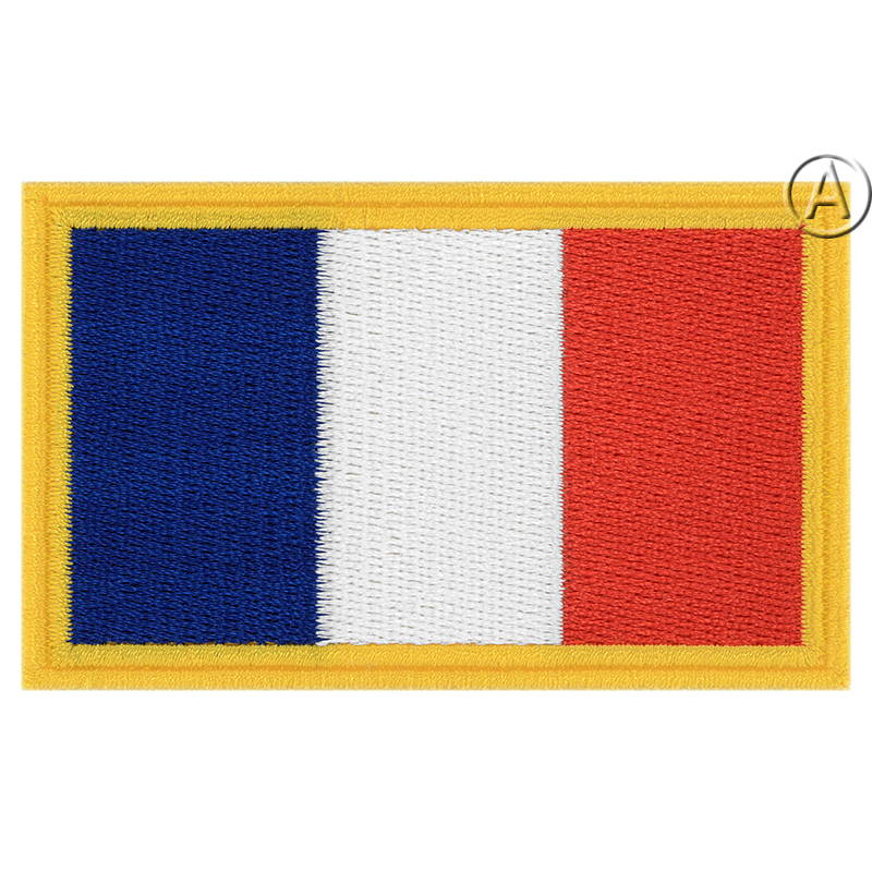 French Tricolour Patch