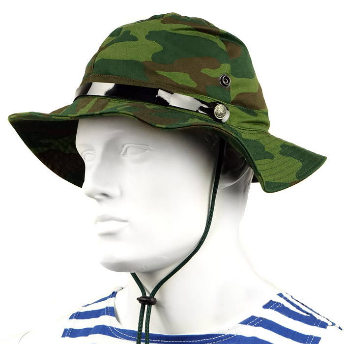 Russian Military Flora Camo Boonie Hat - Panama