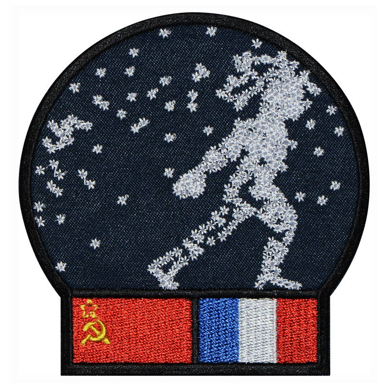 Soyuz T-6 Soviet Manned Spacecraft Patch