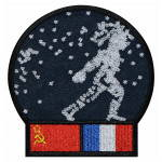 Soyuz T6 Soviet Manned Spacecraft Patch