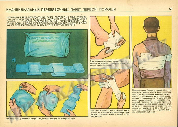 Russian Military First Aid Kit