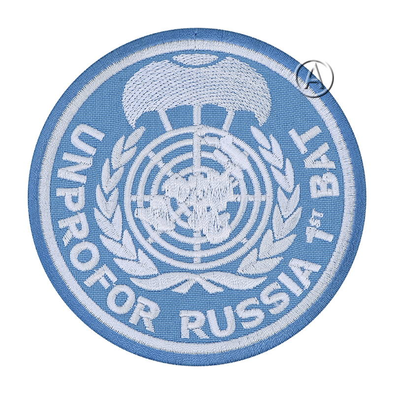 Un Protection Force Russian Patch