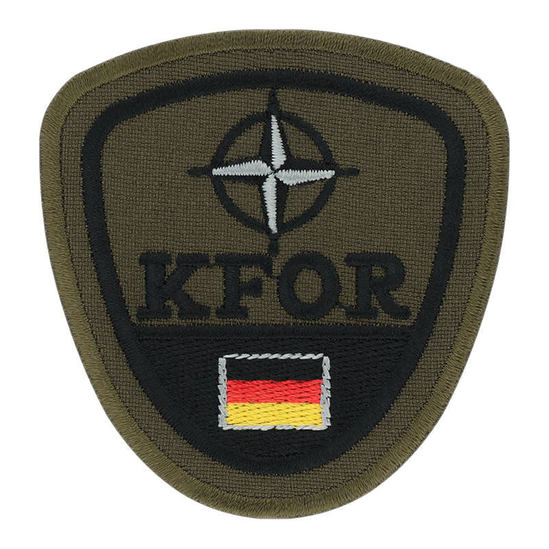 KFOR Kosovo Forces German Patch