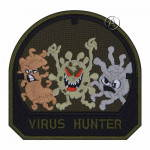 Virus Hunter Airsoft Patch