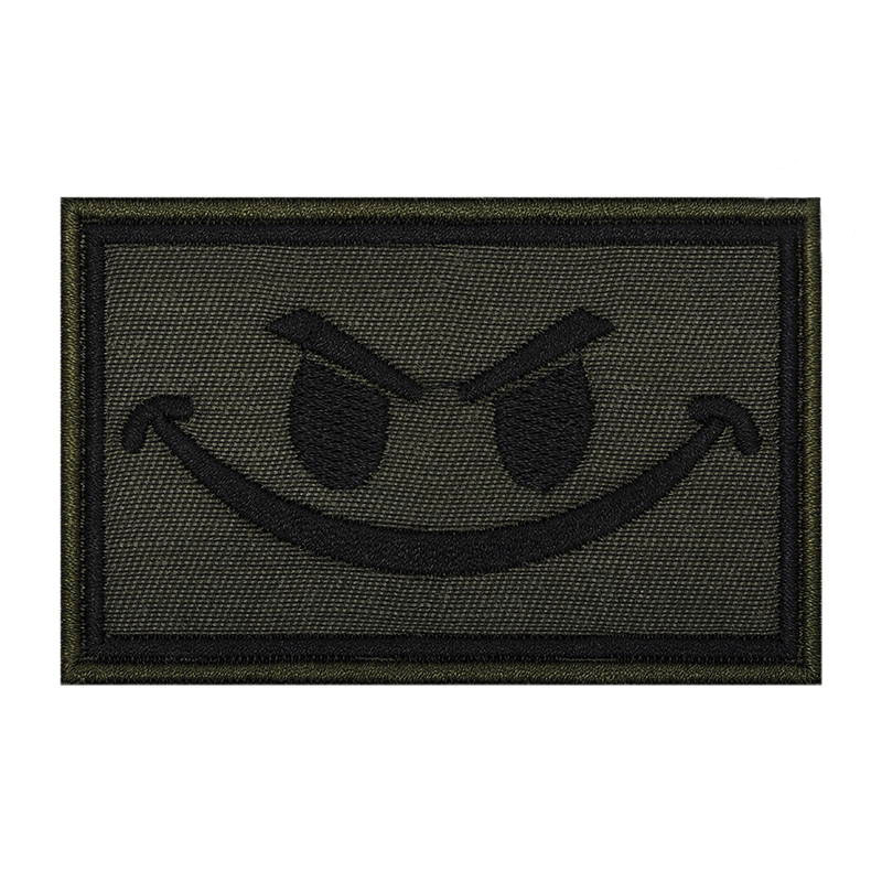 Evil Smiley Face Patch