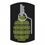 Hand Grenade Airsoft Patch