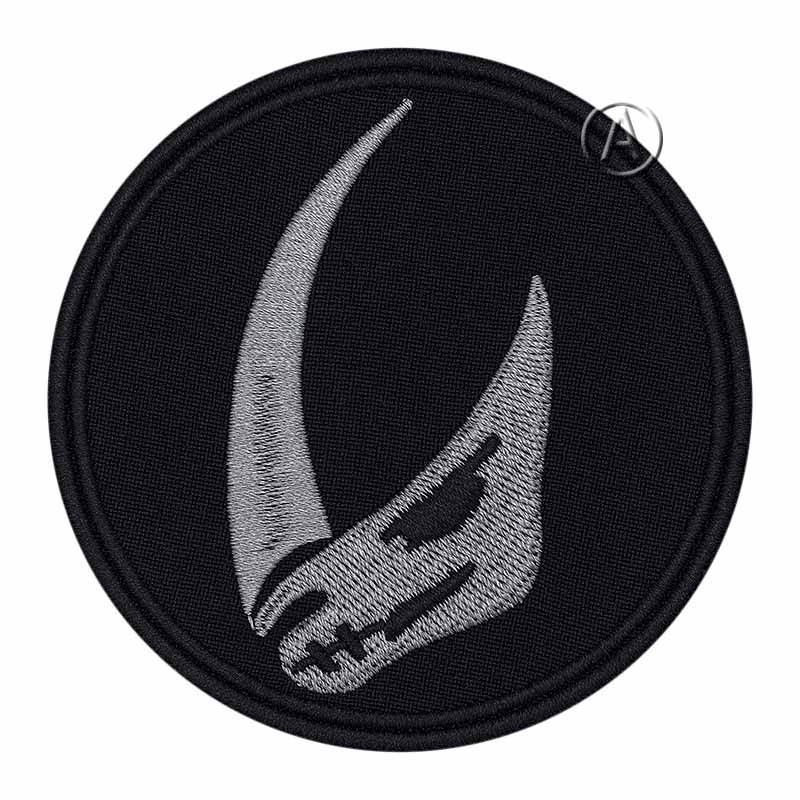 Clan of Two Mandalorian Mudhorn Patch