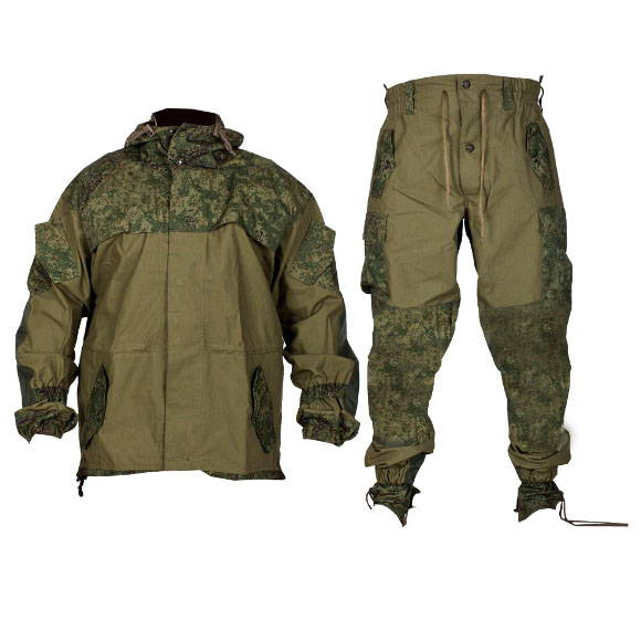 GORKA 3 Digital Flora Camo Mountain BDU Uniform Suit Russian Army Spetsnaz