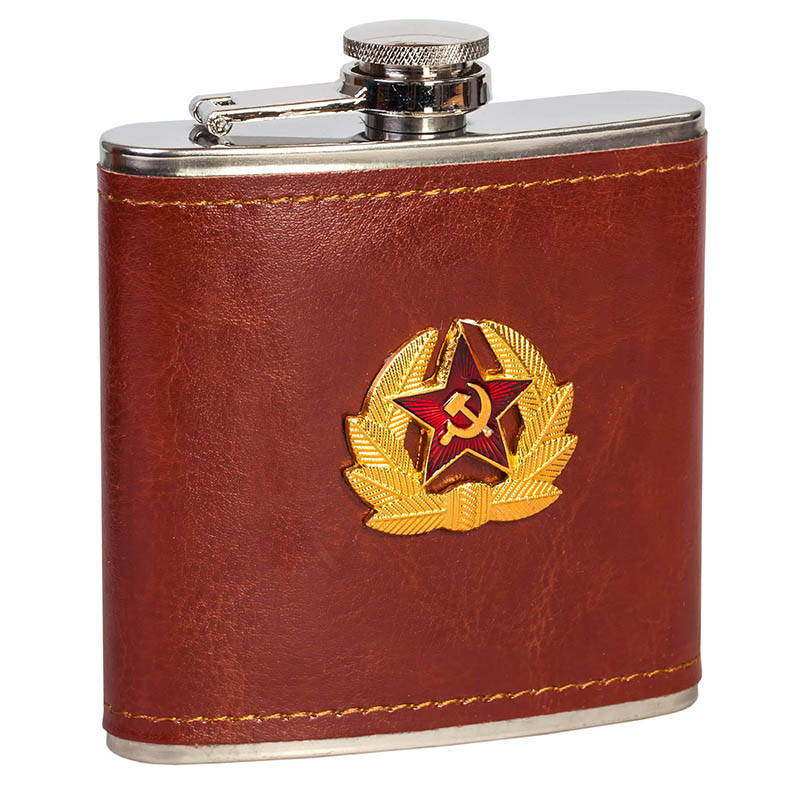 Flask Soviet Army Badge