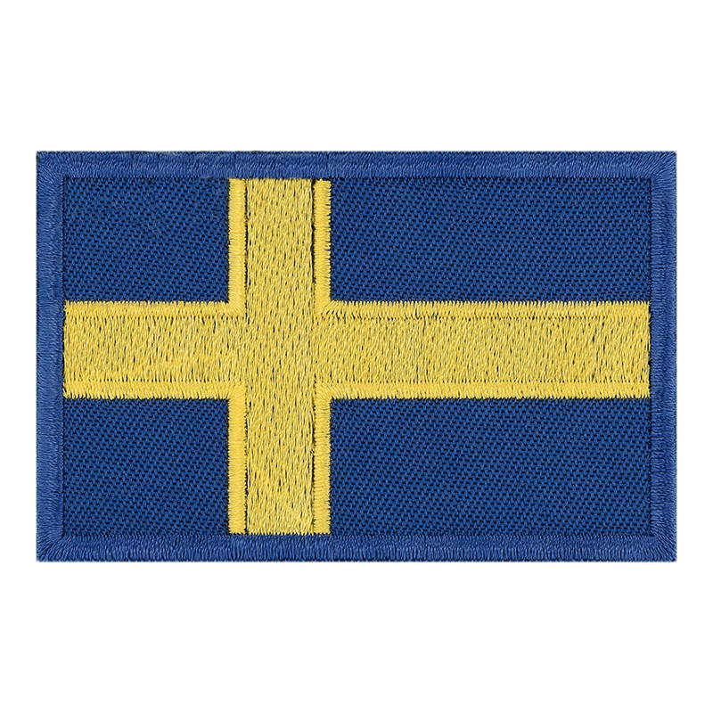 The Flag Of Sweden Patch