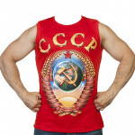 Ussr Jersey T-shirt Red