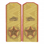 Main Marshal of Armored Forces USSR Shoulder Boards Parade