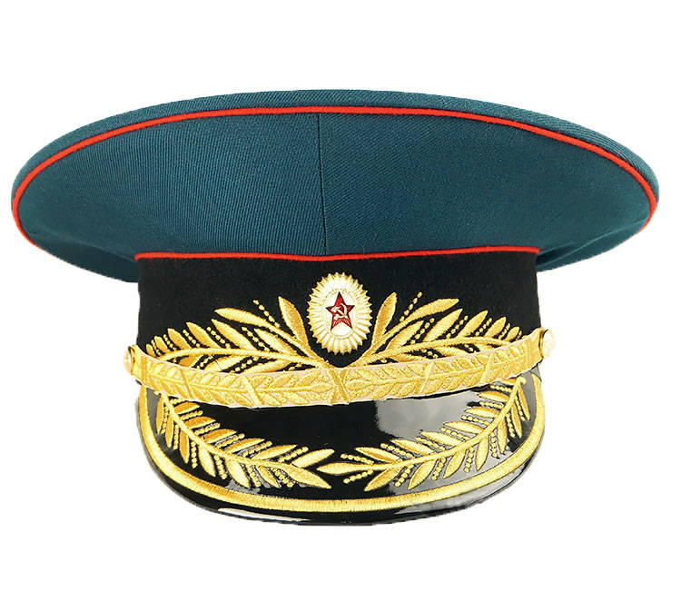 Soviet Military General Uniform Visor Hat