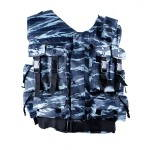 Tactical Vest Urban Blue Tiger
