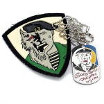 Russomilitare: Russian Spetsnaz Werewolf Patch and Dog Tag Set