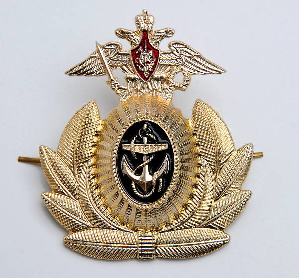russian navy hat pin
