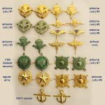 Russomilitare: Russian Military VDV Collar Tabs - Pair